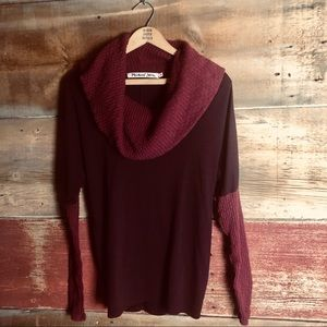 Anthropologie Michael Stars cowl neck sweater